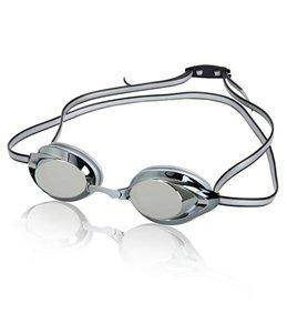 Speedo Jr. Vanquisher 2.0 Mirrored Goggle - Black/Silver Mirror/Smoke Lens