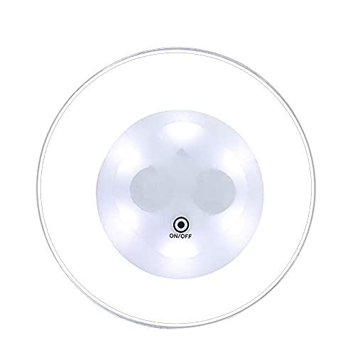 Xiaomu Plato redondo acrílico, LED RGB, impermeable, 6,8 x 6,8 x 0,4 cm