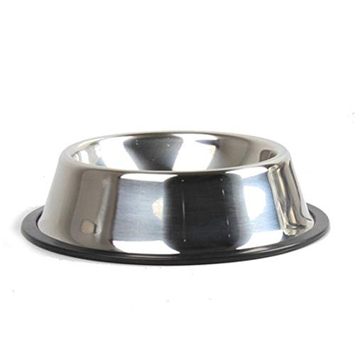 Glqwe Kattenbak van roestvrij staal Puppy Dog Voeding Voeding Voeding Voeding Bak voor Pet Dog Cat