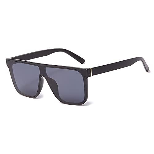 JINZUN Gafas de Sol cuadradas Deportivas de una Pieza Gafas de Sol Anti-Ultravioleta Visera Unisex C1