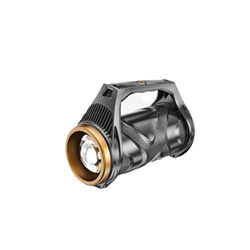 ZZL Linternas Flashlight Super Bright LED Spotlight Recargable Alto Lumens Táctico Torch 7 Modos de Luz Linternas Linterna Camping (Color : A)