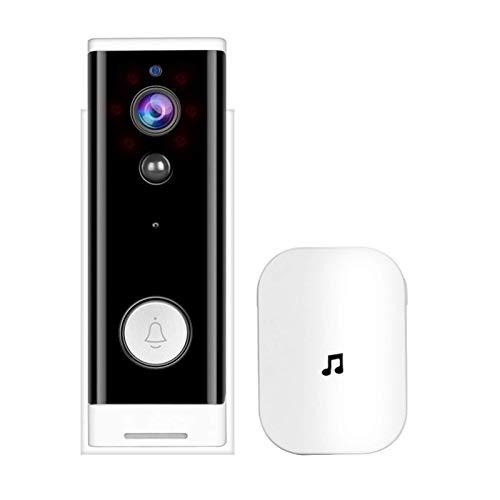 SXXYTCWL WiFi Timbre de la Puerta 2 de Interfono de la cámara de Control de vídeo Timbre Timbre de la Puerta 1080P for Ministerio del Interior jianyou