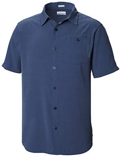 Columbia Mossy Trail T-Shirt à Manches Courtes pour Homme S Charbon