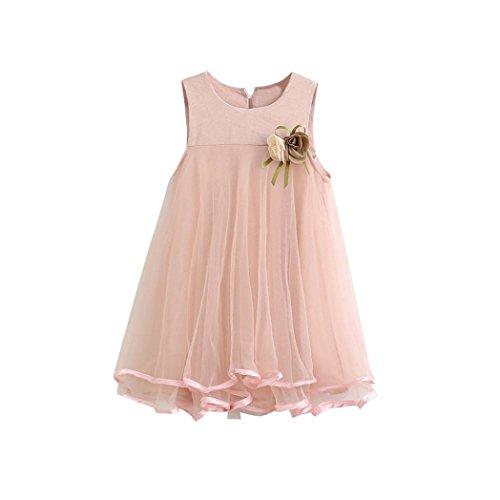 K-youth Vestido de niña, Vestido de Princesa Vestido de Fiesta de cumpleaños...