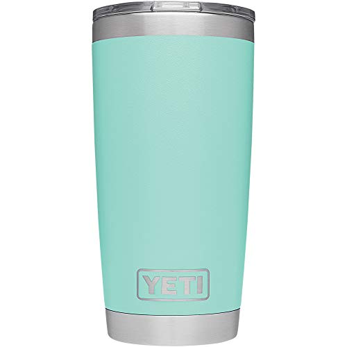 YETI Rambler 20 oz. Stainless Steel Vacuum Insulated Tumbler with Lid, Seafoam