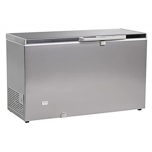 Arriba - Congelator para baúl (aspecto de acero inoxidable, 220 a 700 L, R600A, 400 L)