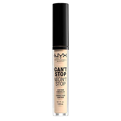 NYX Professional Makeup Correttore Can't Stop Won't Stop,...