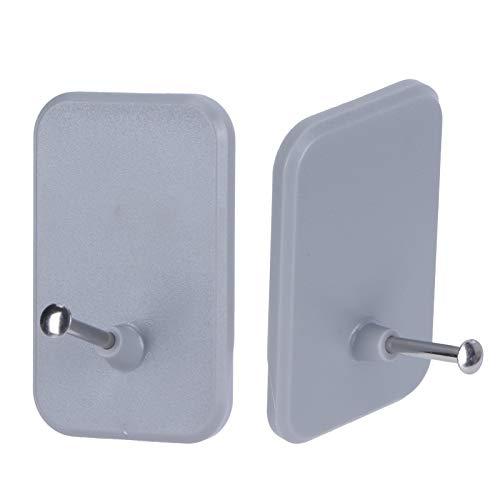 Annjom Ganchos, Ganchos sin Perforaciones Gancho para baño Duradero y Firme para Dormitorio Sala de Estar para baño Cocina para Hoom