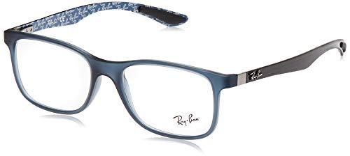 Ray-Ban Herren 0rx 8903 5262 55 Brillengestell, Blau (Matte Blue)