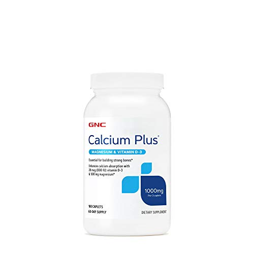 GNC Calcium Plus Magnesium & Vitamin D-3 1000 mg