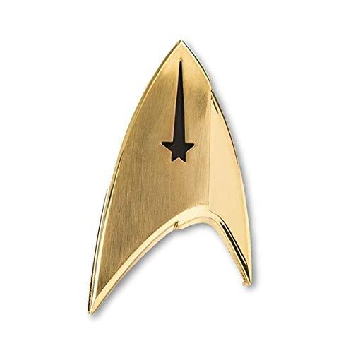 Unbekannt Quantum Mechanix Abysse Corp_BIJQMX001 Star Trek – Abzeichen: Command, Mehrfarbig, Einheitsgröße