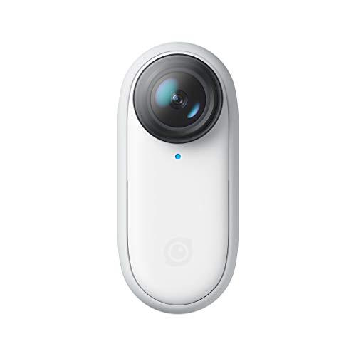 Insta360 GO 2 - Piccola videocamera d'azione, pesa 27 gr, impermeabile, stabilizzazione, cattura POV, sensore da 1/2.3', con custodia di ricarica e accessori per videocamere per viaggi, sport, vlog