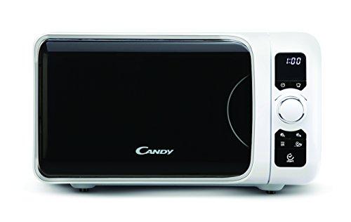Candy EGO-G25DCGW - Microondas con grill, 25 L, 900 W / 1000 W, 6 programas automáticos, color blanco