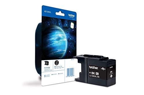 Brother Original XL-Tintenpatrone LC-1280XLBK schwarz (für Brother MFC-J5910DW, MFC-J6510DW, MFC-J6710DW, MFC-J6910DW)