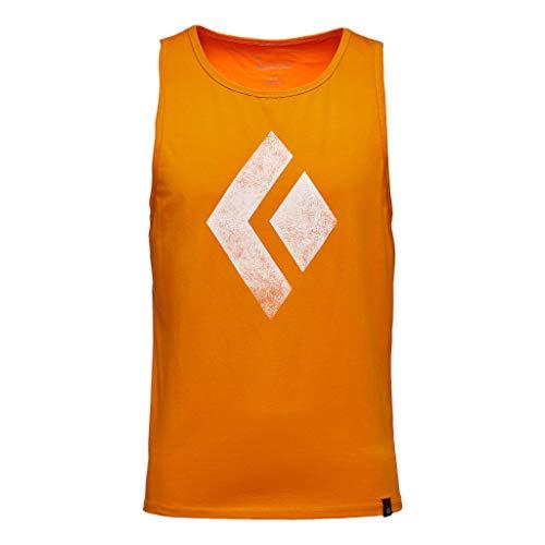 Black Diamond M Chalked Up Tank Débardeur pour Homme XL Rouge-Orange (Ginger)
