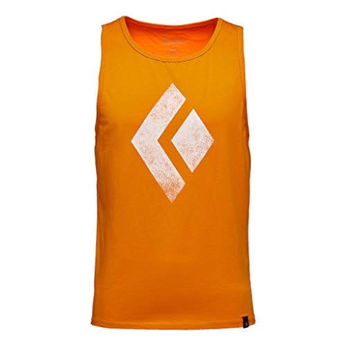 Black Diamond M Chalked Up Tank Débardeur pour Homme XL Rouge-Orange (Ginger)