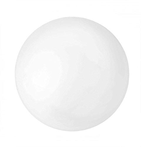 GLOREX Bola de poliestireno Divisible, poliestireno, Durchmesser 25 cm, 25 x 25 x 25 cm