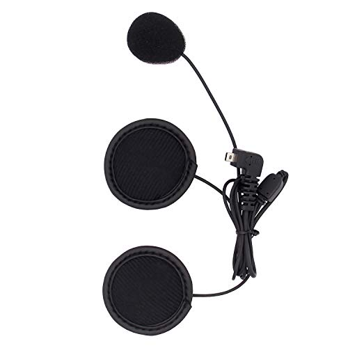 BT-S2/BT-S3 Motorhelm Intercom Headset Oorstuk/luidspreker vervangend accessoire, mini USB 8-Pin, Soft Cable