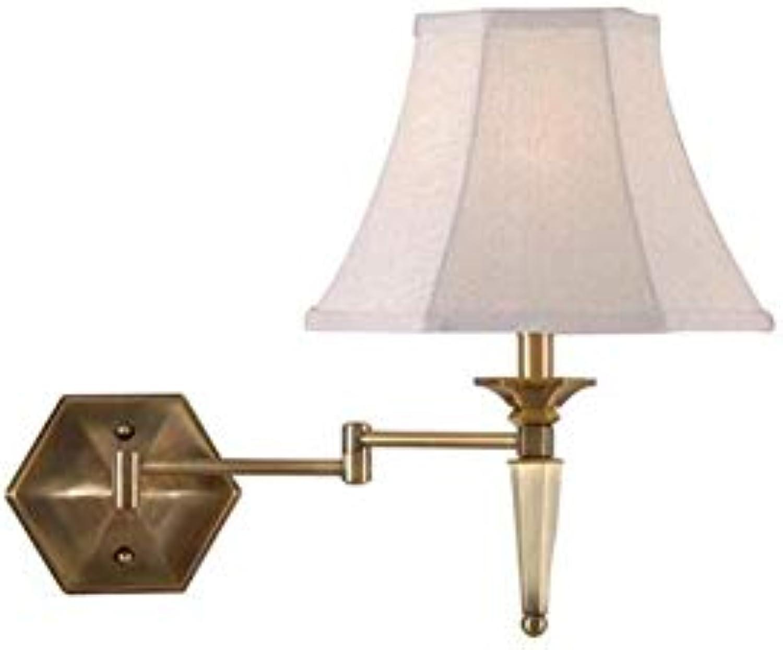Kreative Schlafzimmer Nachttischlampe Mode Persnlichkeit Warme Rocker Wandleuchte Bronze Leselampe