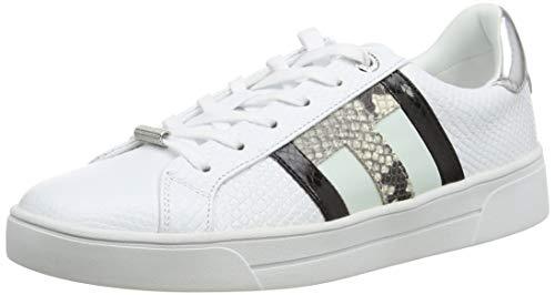 Ted Baker Damen Tennid Sneaker, Weiß, 37 EU