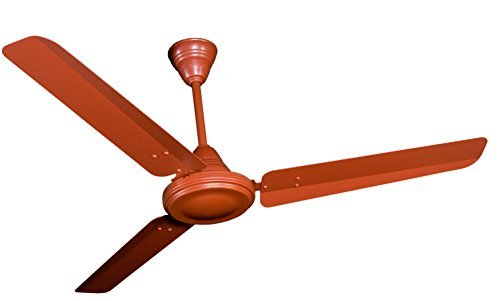 Crompton HS Plus 48-inch Power Saver High Speed Ceiling Fan (Brown)