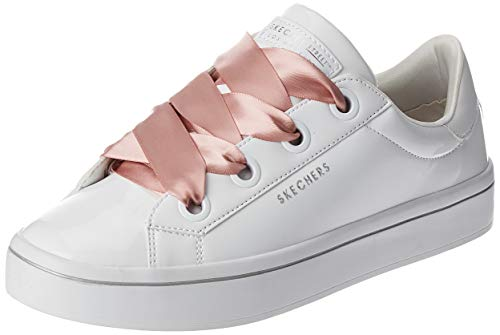 Skechers Hi-Lites Slick Shoes Damen Sneaker Weiss Lack 959 WHT, Schuhgröße:37 EU