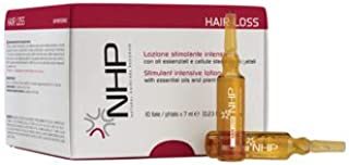 NHP Hair Loss Stimulant Intensive Lotion With Essential Oils and Plant Stem Cells Pack 10 ampoules x 7ml.