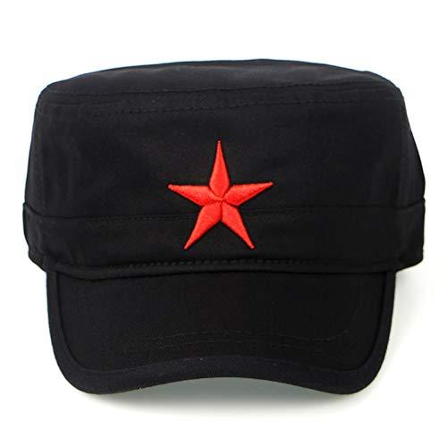FHHYY Gorra Militar Sombrero de Verano Mujeres Moda Sombreros Militares Ejército Hombres...