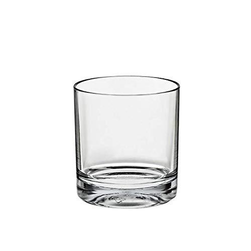CRISTALICA Collection cocktail de verre à eau en verre de whisky Acrylique 150 ml, acrylique, de style moderne