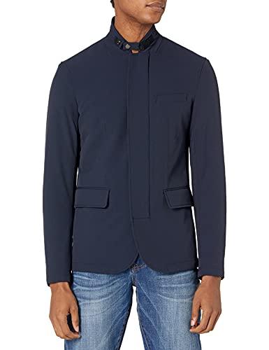 Armani Exchange Blazer Field Jacket Veste de Sport, Bleu Marine, XS Homme