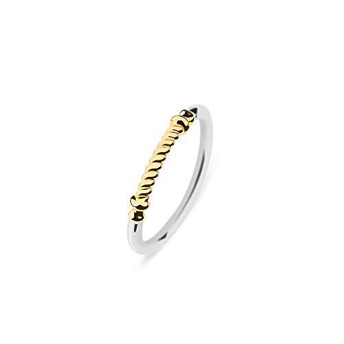 PAUL HEWITT Damen Edelstahl Ring Portside - Damenring Edelstahl, Ring für Damen in Silber und Gold