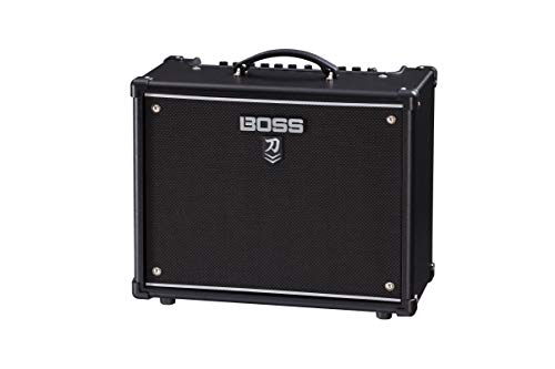 BOSS Katana - 50 Mkii Combo Guitar Amplifier, Stage-Ready 50-Watt Combo Amp with A Custom 12-Inch Speaker