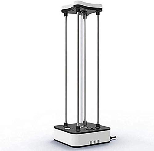Ultraviolette kiemdodende lamp, draagbare sterilisatie-licht Uv-desinfectielamp Huis Huisdier Kleuterschool Hotel Afstandsbediening + ozon 36W
