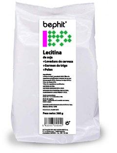 Lecitina de soja + Levadura nutricional + Polen Bephit - Bolsa 300 g