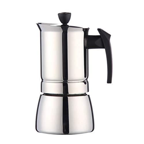 Review Of RenShiMin Shop Coffeepots Moka Pots Stove Top Coffee Maker Hand Punching Moka Pot Italian-...