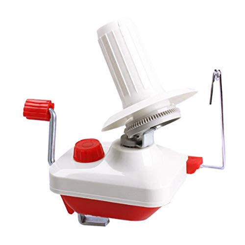 courti Handheld Yarn Winder, Hand Operated Yarn Ball Winder For Knitting And Crochet Winding Wool Winder String Holder, Holder Wool Thread Ball Winder Winding Machine For Knitting And Crochet
