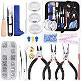 COODENKEY 18 piezas de fabricación de joyas, herramientas