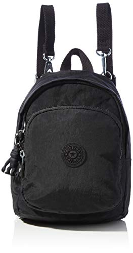 Kipling Women's Delia Compact Backpacks, Black Noir, 18x23.5x13 Centimeters (B x H x T)