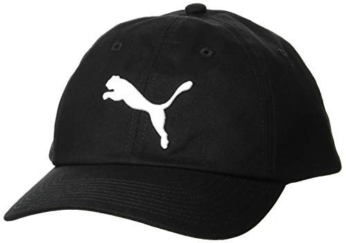 PUMA ESS Cap Chapeau Mixte Adulte, Black-Big Cat
