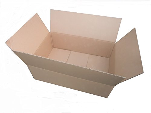 25x Versandkarton 600 x 400 x 200 * 60x40x20 * Karton * Faltkarton * Kartonage