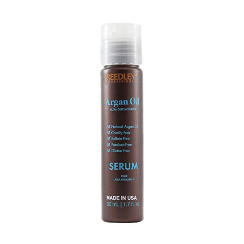Reedley - Serum Argan Oil - Ultra-Hydratant - Masque Cruelty Free - Sans Gluten - Serum Cheveux Sans Sulfate et Sans Paraben - Serum Argan Oil Hydratation Intense