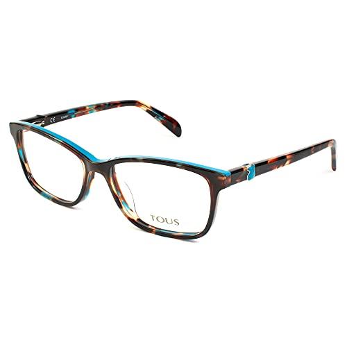 TOUS S0350820 Marcos para gafas recetadas, Marrón, 53 mm para Mujer