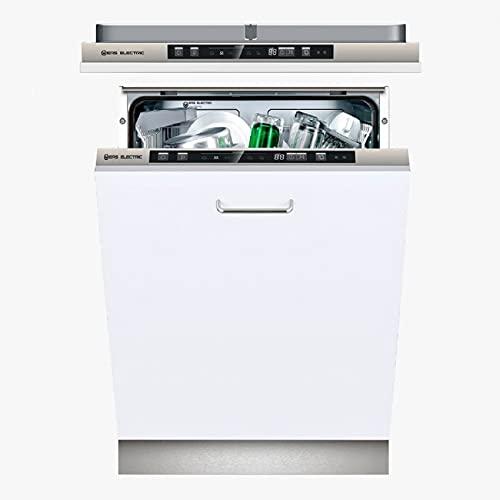 EAS ELECTRIC SMART TECHNOLOGY | Lavavajillas 60 cm | EMD141BI-V1 | E/A++ | 14 servicios - cubiertos | Blanco | Integrable | 6 Programas | Display LED | Media carga