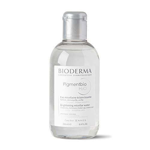 Bioderma PigmentBio H2O, Agua Micelar Suave Para Limpiar Manchas Oscuras, 250 ml