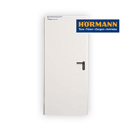 Hörmann - Rauchschutztür - T30 - H8-5MZ RS - RAL9002 - DIN Links / Rechts - inkl. Zubehör - BRM 875 x 2000
