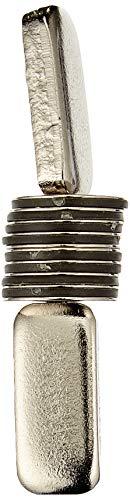 first4magnets F290-10 15 mm diámetro x 0,5 mm de grosor N42 imán de neodimio con 0,28 kg tirador (10 unidades)