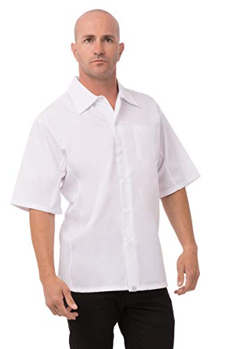 Chef Works Button Down Shirt voor dames