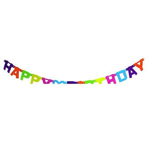 1 Stück 'Happy Birthday'-Girlande ca. 150 cm