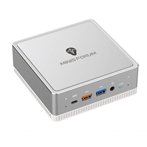 Mini PC, AMD Athlon 300U Prozessor 16 GB DDR4 / 256GB SSD Mini Desktop Computer mit Windows 10 pro, HDMI- DP und USB-C Anschluss, BT 5.1, USB 3.1 * 4