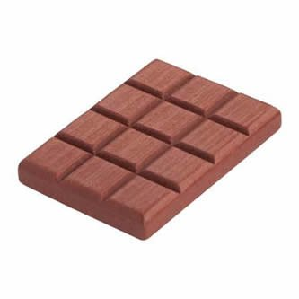 Haba - Epicerie Haba - Plaque de chocolat en bois